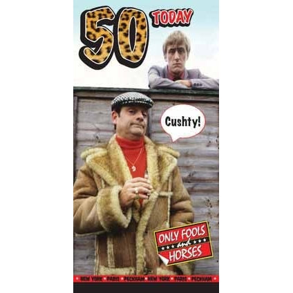 Only Fools and Horses Happy 50th Birthday Card