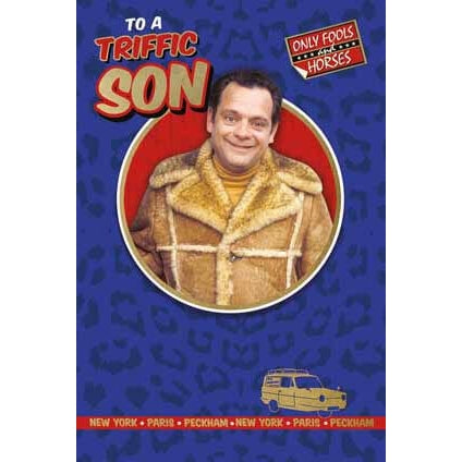 Only Fools and Horses Son Birthday Card