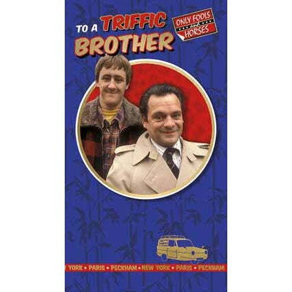Only Fools and Horses Brother Birthday Card