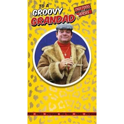 Only Fools and Horses Grandad Birthday Card