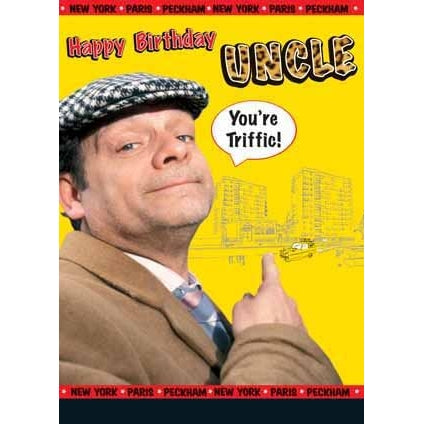 Only Fools and Horses Uncle Birthday Card