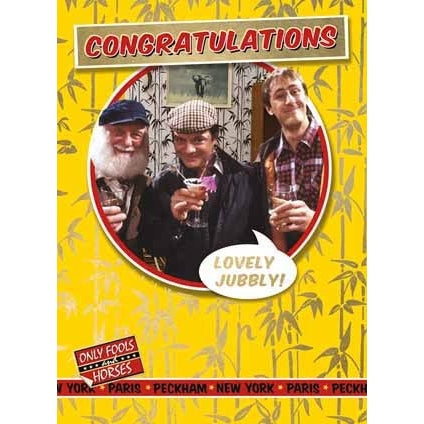 Only Fools and Horses Congratulations Card
