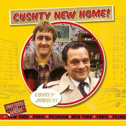 Only Fools and Horses New Home Card
