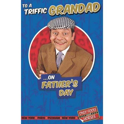 Only Fools & Horses Father's Day Triffic Grandad Card