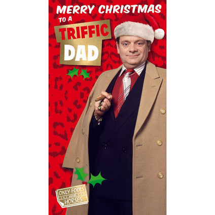 Only Fools And Horses Dad Christmas Card