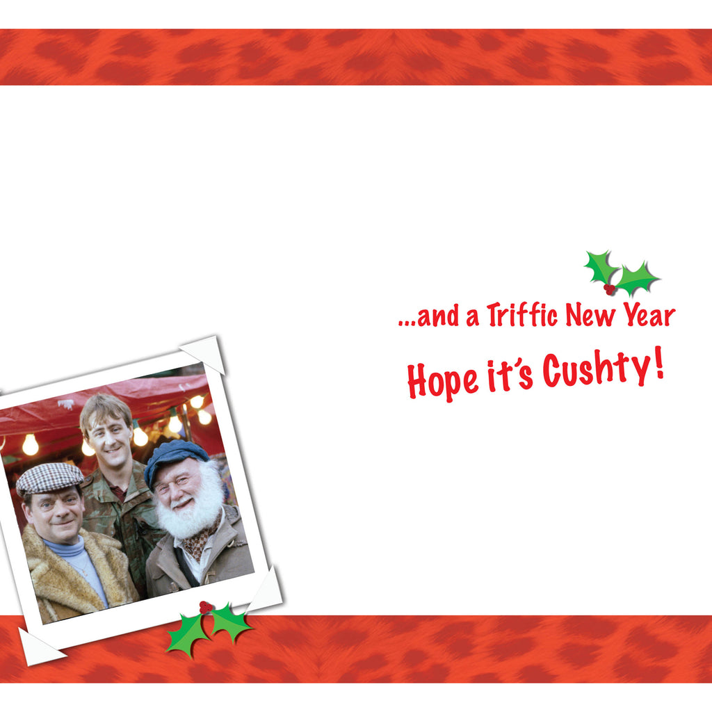 Only Fools And Horses Grandad Christmas Card Inside