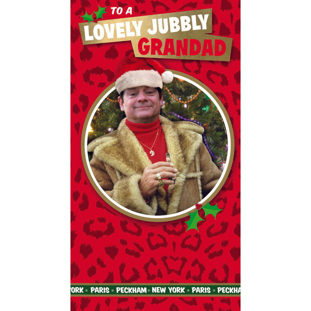 Only Fools And Horses Grandad Christmas Card Front