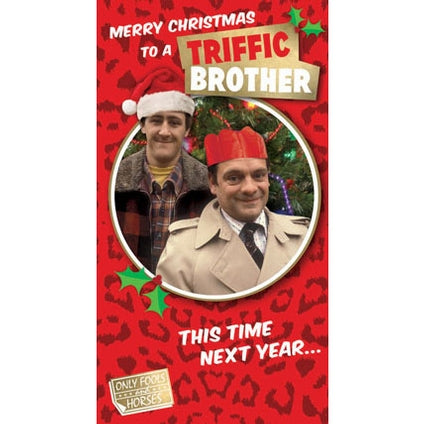 Only Fools And Horses Brother Christmas Card