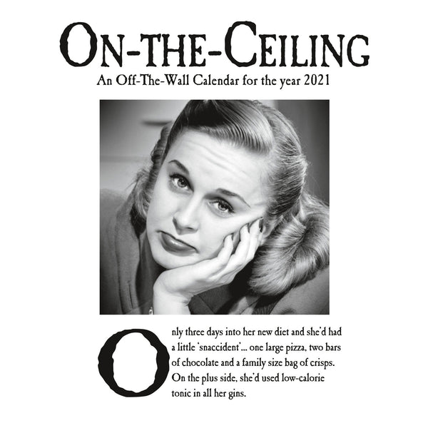 On The Ceiling Official 2021 Square Wall Calendar Front