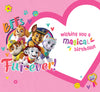 Paw Patrol Girl Birthday Card Inside