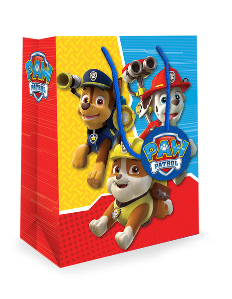 Paw Patrol Medium Gift Bag Front