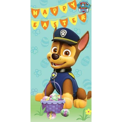 Paw Patrol Money Wallet Easter Card