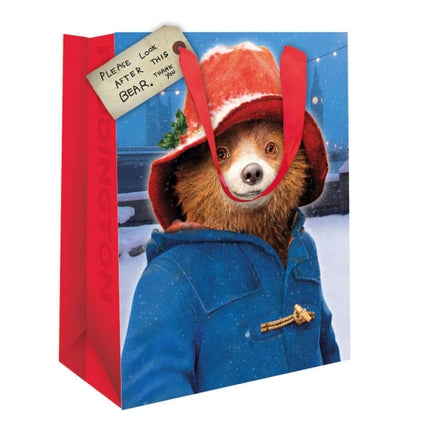 Paddington Bear Christmas Gift Bag