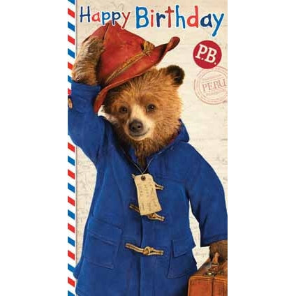 Paddington Bear The Movie General Birthday Card