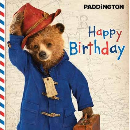 Paddington Bear The Movie Greeting Card