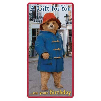 Paddington Bear The Movie Money Wallet Card