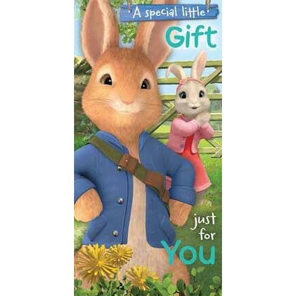 Peter Rabbit Money Wallet Card