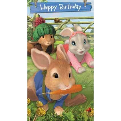 Peter Rabbit General Birthday Card