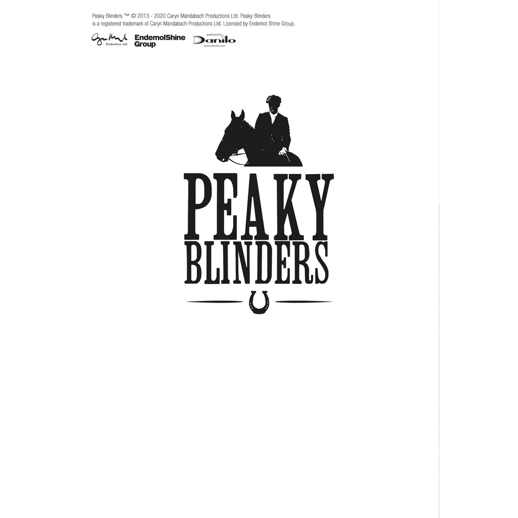 Peaky Blinders Personalised Blinding Father's Day Card Back Page