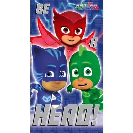 PJ Masks Official Be a Hero Birthday Card