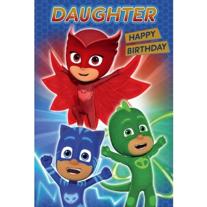 PJ Masks Official Daughter Birthday Card