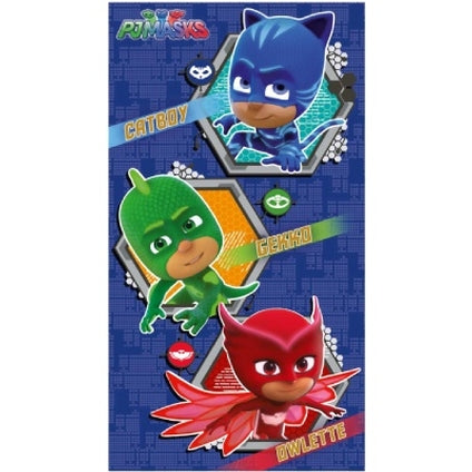 PJ Masks Official Birthday Card with Cut-Out Mask