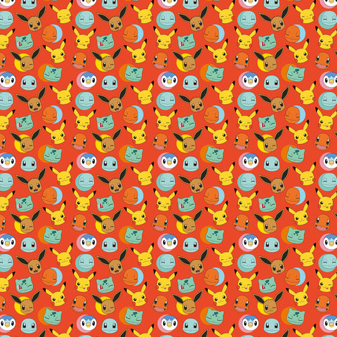 Pokemon Gift Wrap Roll 4m