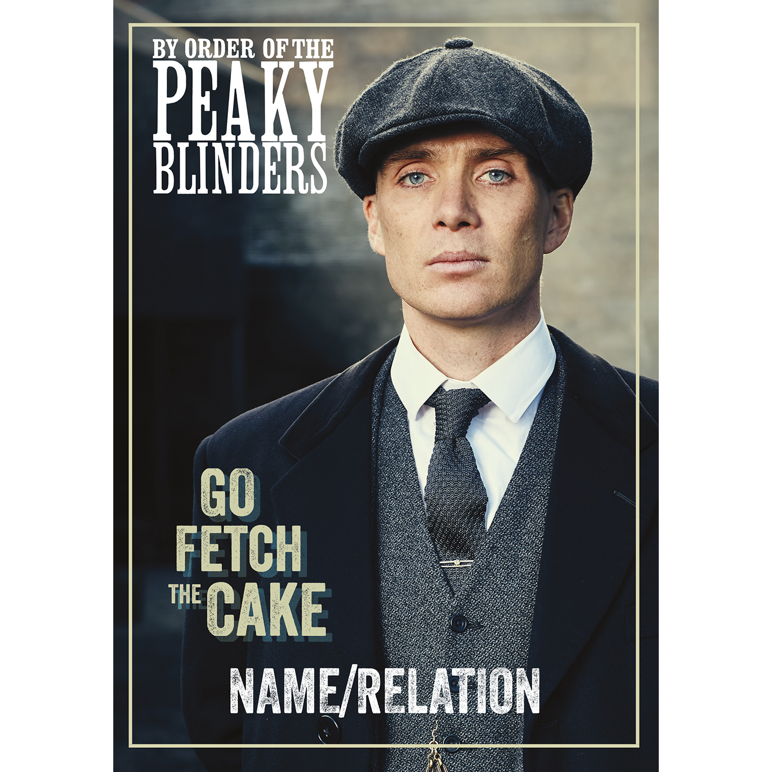 Peaky Blinders Any Name Birthday Card