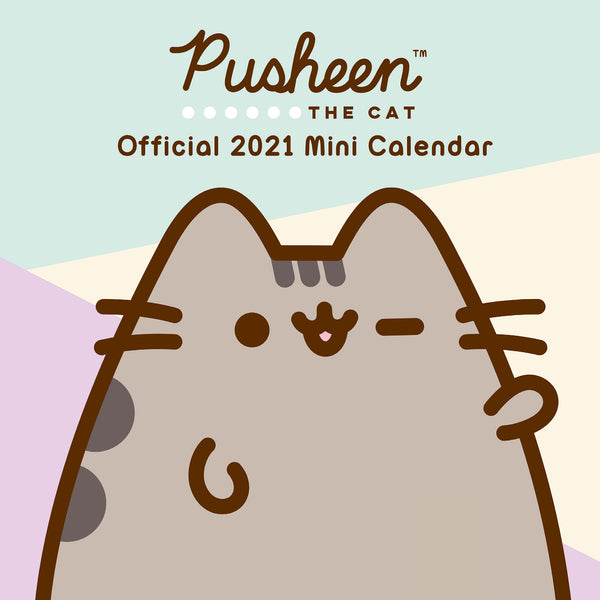 Pusheen Official Mini 2021 Calendar FRONT