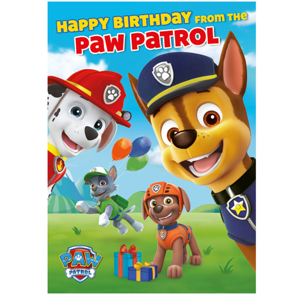 PAW Patrol Sound Card