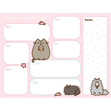 Pusheen Desk Pad Official Calendar