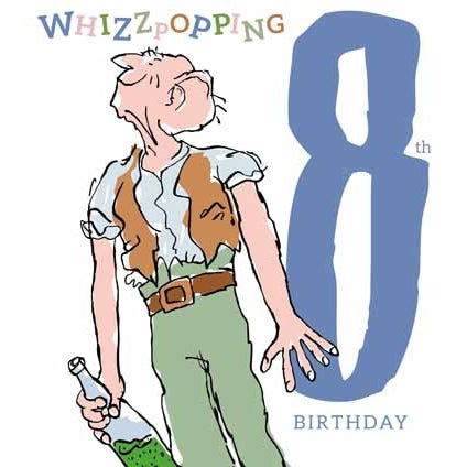 Roald Dahl The BFG Age 8 Card