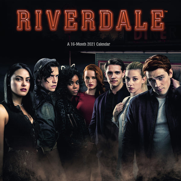 Riverdale Official 2021 Square Wall Calendar FRONT