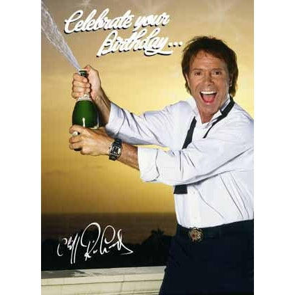 Cliff Richard Birthday Sound Card