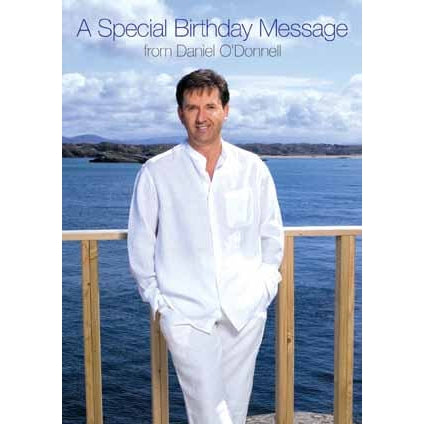 Daniel O'Donnell Birthday Sound Card