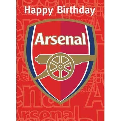 Arsenal FC Birthday Sound Card