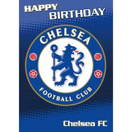 Chelsea FC Birthday Sound Card