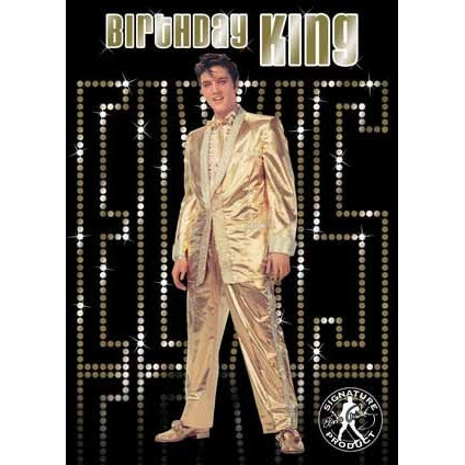 Elvis Birthday Sound Card