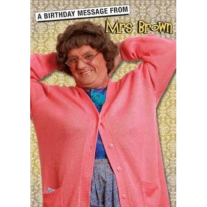 Mrs Brown's Boys Birthday Sound Card