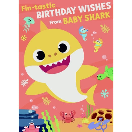 Baby Shark Sound Card