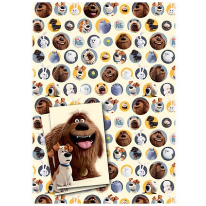 Secret Life Of Pets 2 Sheets and Tags