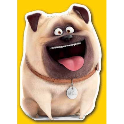 Secret Life Of Pets Mel Die-Cut Card