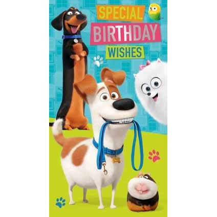 Secret life of Pets 2 General Birthday Card