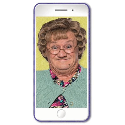Selfie Mrs Brown's Boys Card