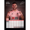 Sheffield United FC 2021 A3 Wall Calendar Inside