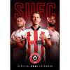 Sheffield United FC 2021 A3 Wall Calendar Front