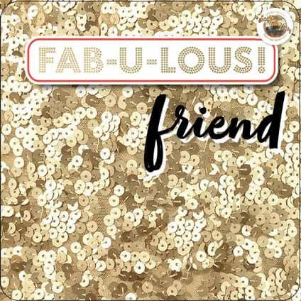 Strictly Come Dancing FAB-U-LOUS FRIEND CARD