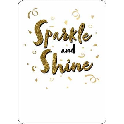 Strictly Come Dancing SPARKLE AND SHINE Card