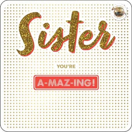 Strictly Come Dancing Sister Birthday Card