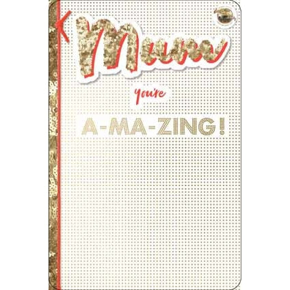 Strictly Come Dancing Mum Birthday Card